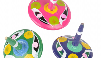 Wooden Phirki Toys – cute traditional spinning toy ( Firki Toys )