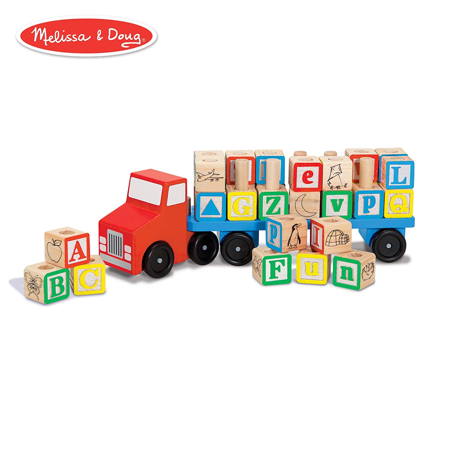 Best Wooden toy - Alphabet Truck