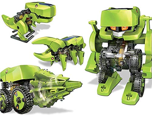 Looking for a Educational Toy for your 6 year old - try  Emob 4 in 1 Solar Robot Educational Toy