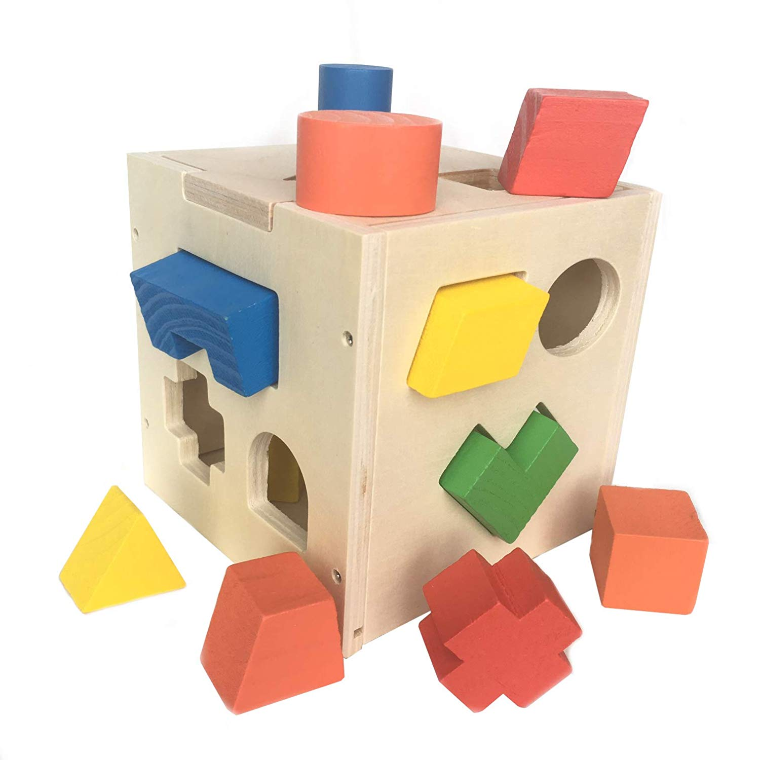 SN Toy Zone Wooden Educational Card Puzzle Sorter.