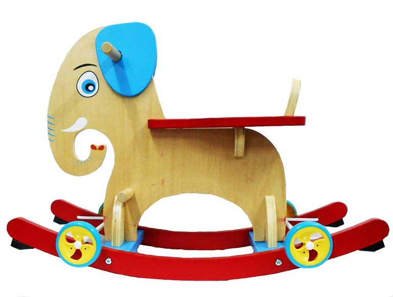 Wooden Rocking Horse, the best toy for 1 year old