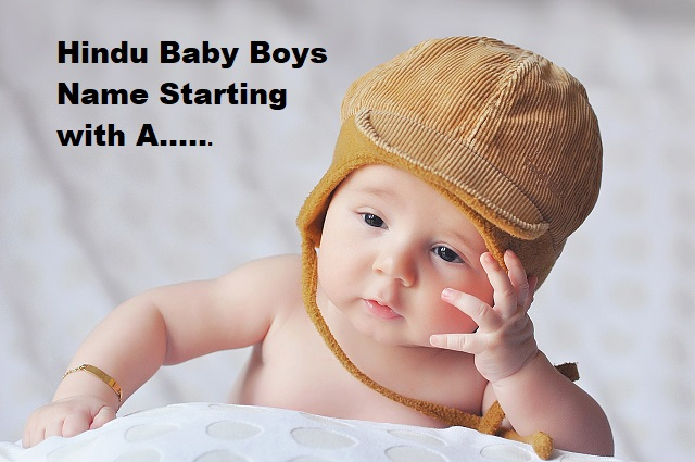 hindu baby boys name starting with A