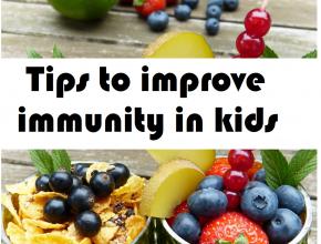tips to improve immunity in kids