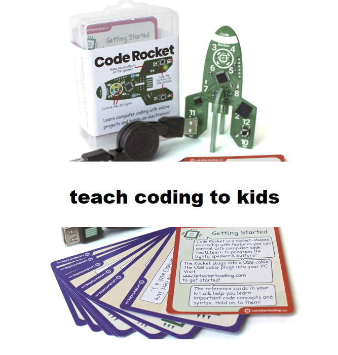 Teach coding to kids