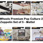 hotwheels Led Zeppelin Set