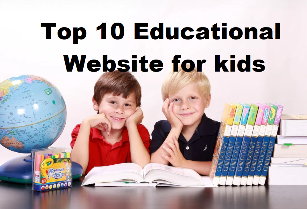top 10 educational website for kids