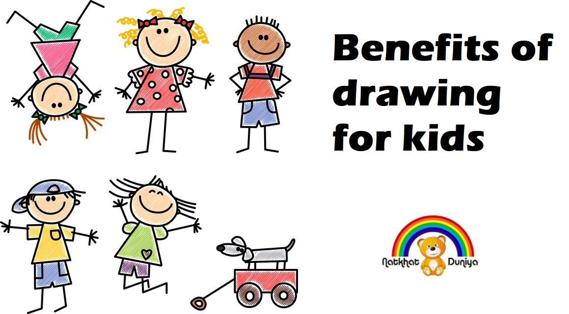 benefits of drawing for kids