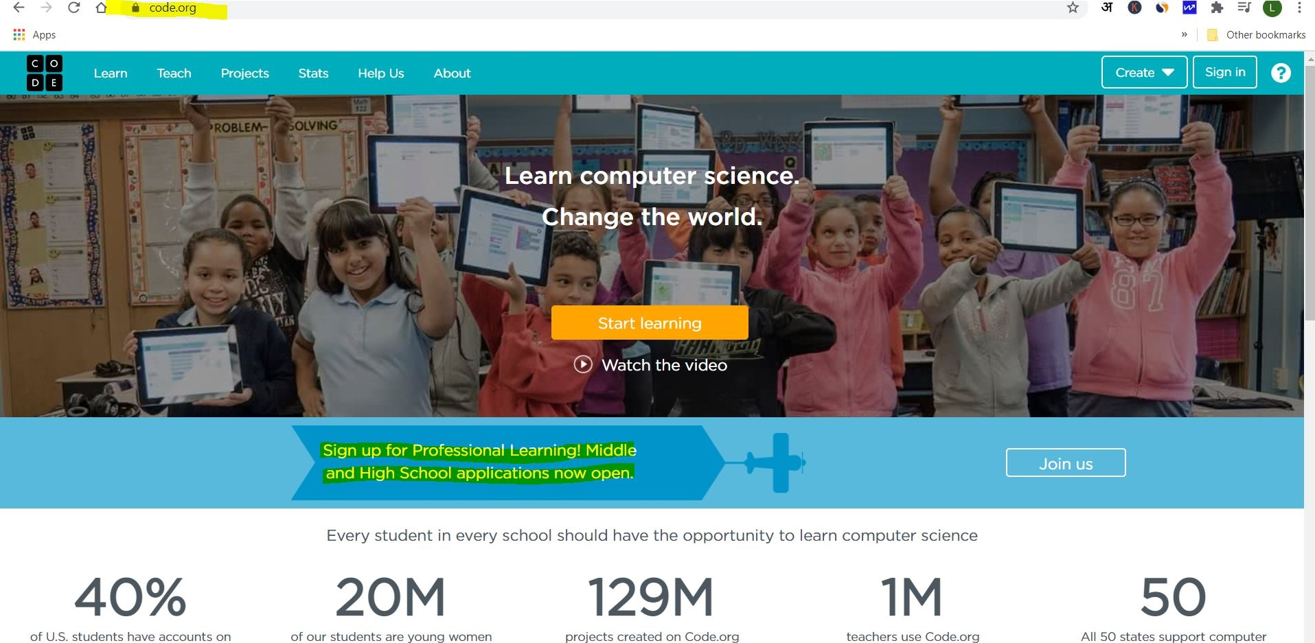 free coding websites for kids codedotorg