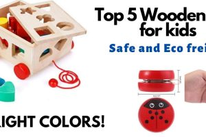 Top 5  Wooden Toys for kids – great and safe toys to consider