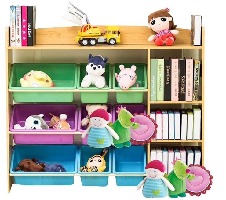 free standing toy storage
