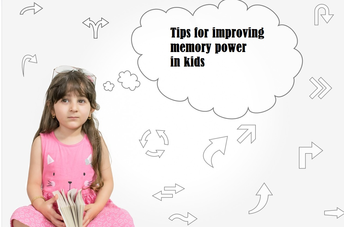Tips for improving memory power in kids