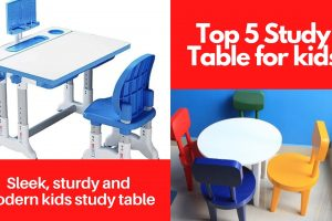 Top 5 Study Table for kids – Sleek, sturdy and modern best study table for kids