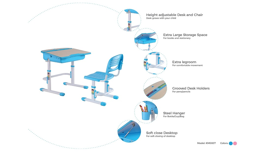 kidomate kids study table chair