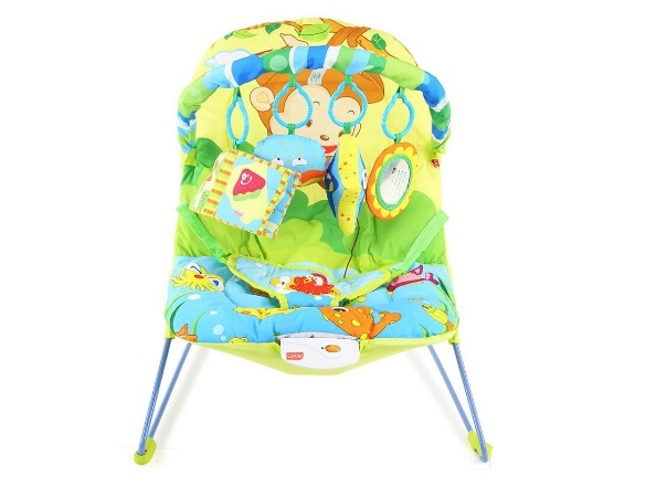 LuvLap Jungle Tales Newborn to Toddler Portable Rocker Cum Bouncer Baby Rocker