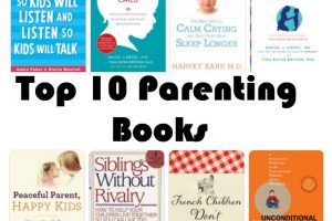 Top 10 Parenting Books – Helpful in the journey of being a parent
