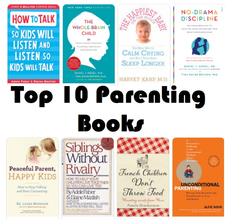 Top 10 Parenting books