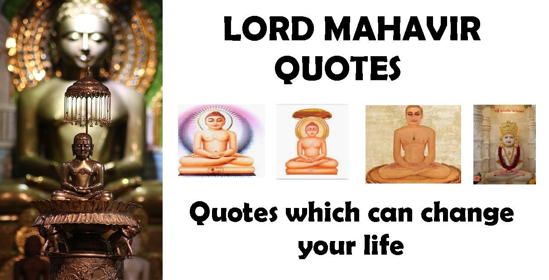 lord mahavir quotes