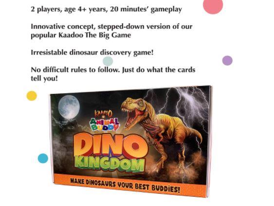 Dino board games