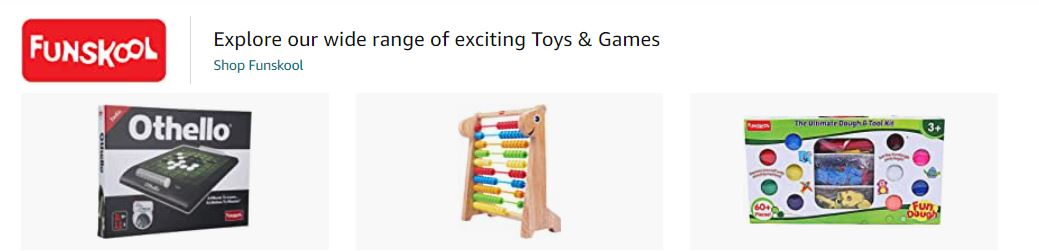 Funskool - Popular toy brands in India - Made in India
